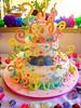 BOLO - ZOE - SWEET SUGAR ATELIER DO AÇÚCAR, BY MICHELLE LANZA!! (SWEET SUGAR By Michelle Lanza) Tags: branco zoe sweet sugar bolo cor oficial brilho artistico gravidade arebescos