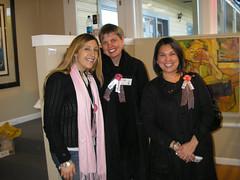 At Gallery 7, Me, Ula and Ruth!