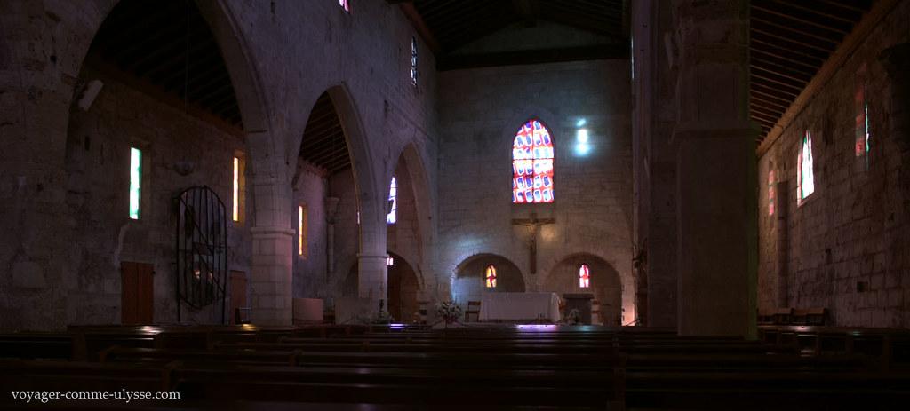 Photo HDR de Notre Dame des Sablons