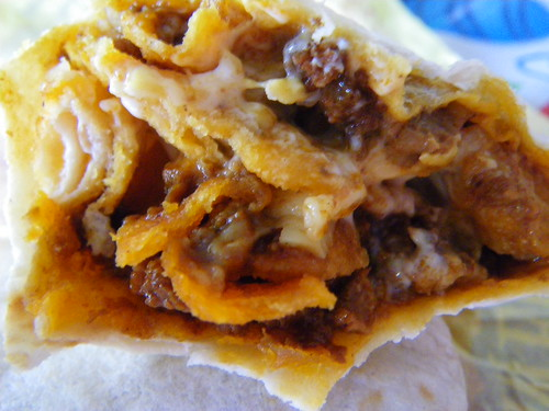 Taco Bell's Chili Fritos Burrito by mytripsandraces