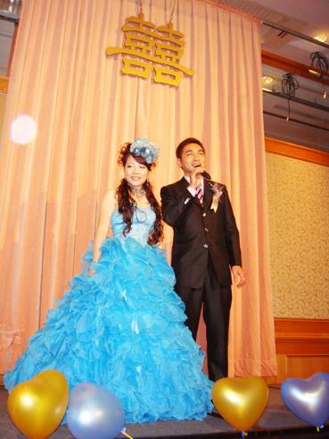 豪華新娘禮服