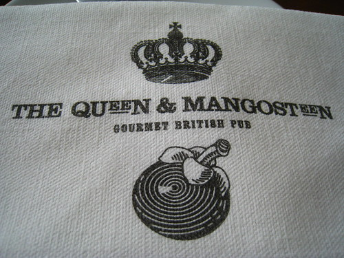 The Queen & Mangosteen's Napkin