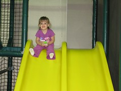 Boots on the slide