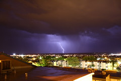 Canon Rebel XS - Lightning Show (Doctorlo) Tags: sky cloud storm newmexico southwest weather night noche cielo tormenta thunderstorm lightning rayo climate lightningbolt nube lascruces clima relampago newmexicothunderstorms