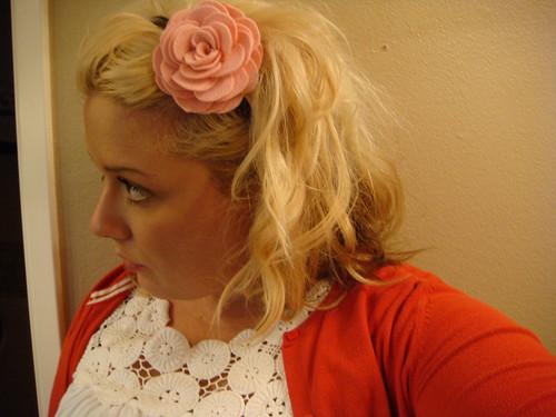 side pink flower