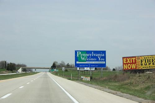 Pennsylvania welcomes me