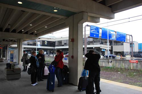 Philadelphia Airport train station