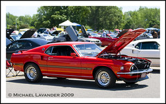 1969 Ford Mustang Mach One (Michael Lavander) Tags: ford eos cobra canon20d falcon shelby 427 mustang michiganavenue gt fordmustang glasshouse v8 classiccars carshow fairlane mustangs 302 supercharged gt500 sunliner gt350 70200f28l carrollshelby machone worldheadquarters boss302 whq worldcars 1969mustangmach1