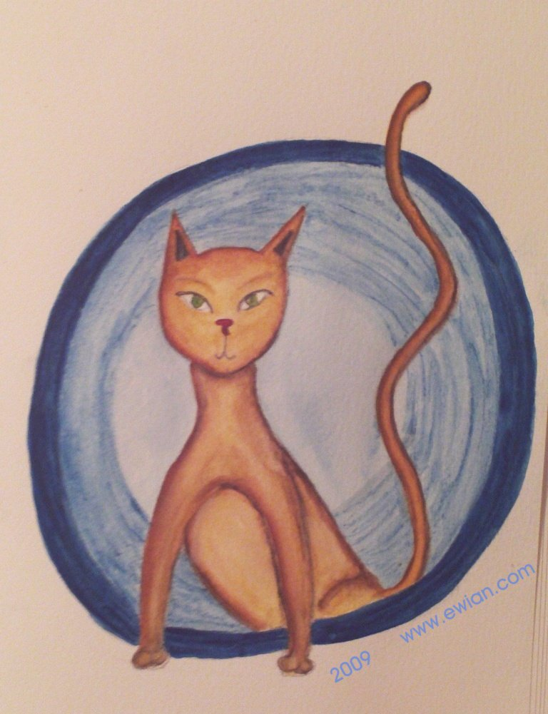June cat - ewian