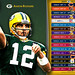 2009 Green Bay Packers NFL Schedule Wallpaper