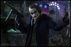 The Jester Calls (Bleau Aquino) Tags: batman joker aquino twoface bleau christianbale heathledger aaroneckhart thedarkknight hottoys 16scale harveydent bleauaquino