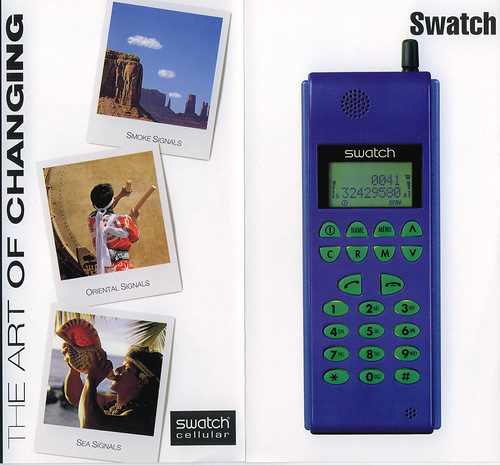 Swatch Mobile Phone by eyeseenicee from Flickr