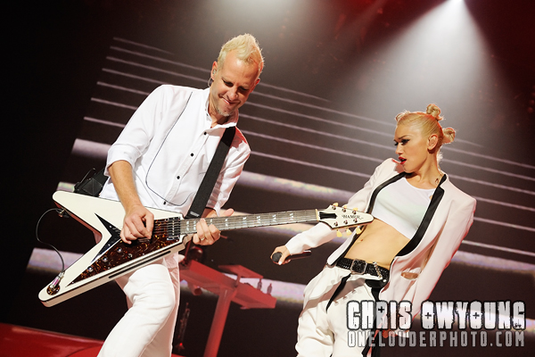 Photos of No Doubt performing at Susquehanna Bank Center. Camden, NJ.