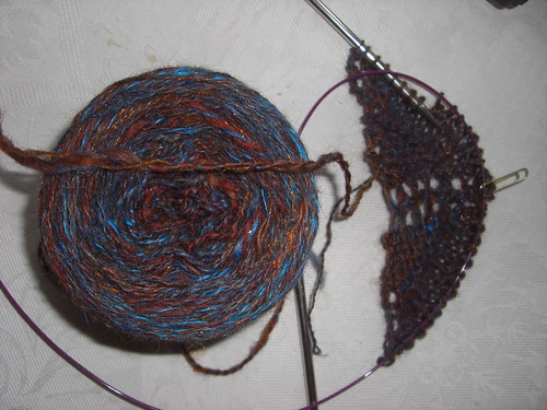 Jeanie Shawl and Yarn