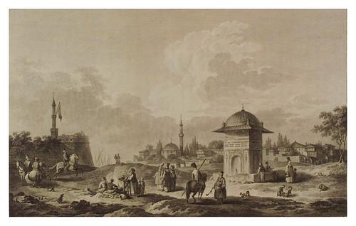 006- Vista de la fuente de Scio-Voyage pittoresque de la Grèce 1782