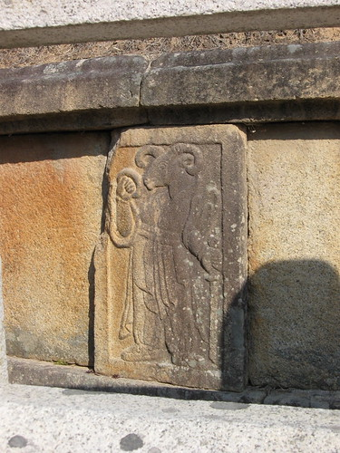 "The ""sheep"" zodiac at General Gim Yu-Shin tomb@ Gyeongju"