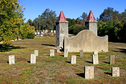 Chinese Burning Towers, Beechworth Cemetery, Victoria, Australia IMG_4932_Beechworth