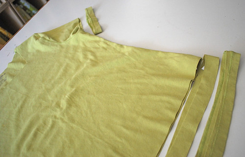T-shirt before