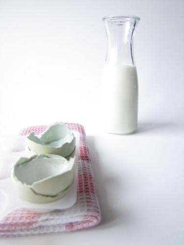 Il Latte e le Uova Blu per il Clafoutis
