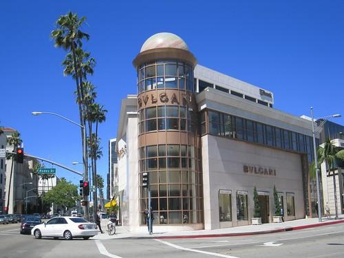 Bulgari store in Beverly Hills