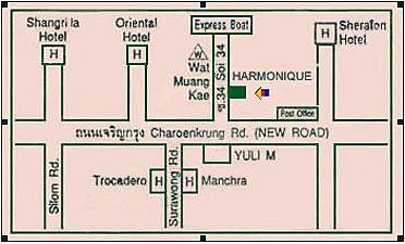 Harmonique地圖