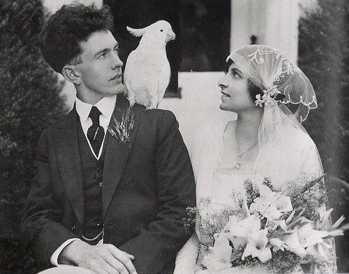 Fashionephemera favorite picture 1920s wedding source junglespirit Images