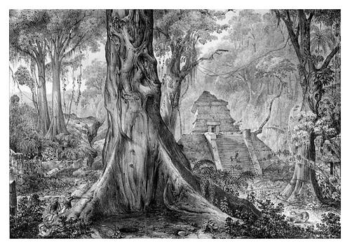 025-Puebo antiguo de los Totonecas en Tusapan-Voyage pittoresque et archéologique dans la partie la plus intéressante du Mexique1836-Carl Nebel