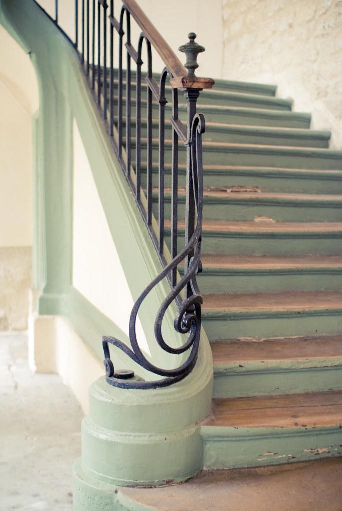 Escalier de la rue Amelot