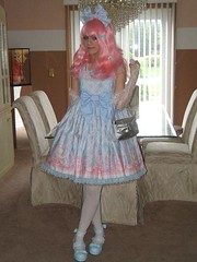 I wore this to a meetup (QueenOfLace) Tags: paige lolita tempest