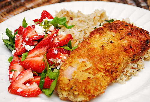 Mustard, Herb & Cheese Crusted Pork