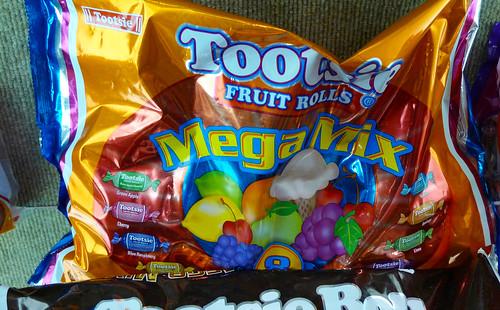 Tootsie Fruit Rolls Mega