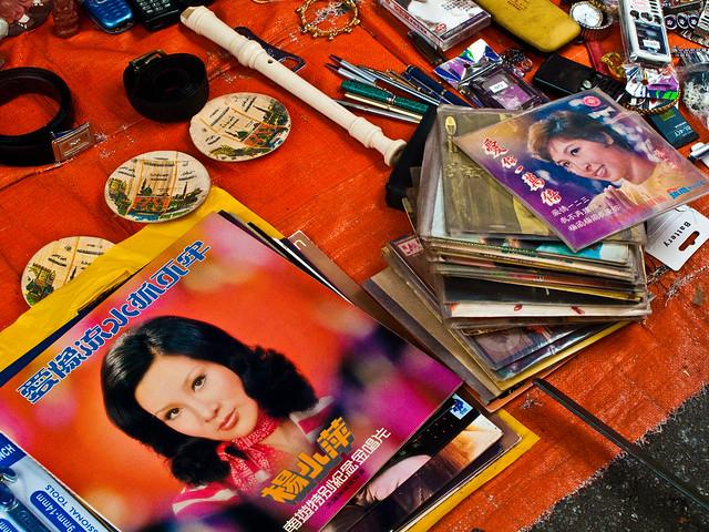 IMG_0626 黑胶唱片, phonograph record - flea market , Penang