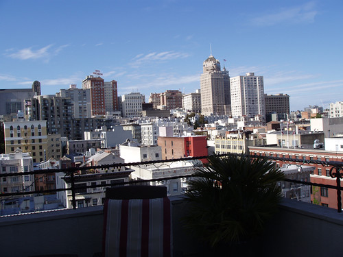 View from Hotel Adagio, SF, May 2011 by suzipaw