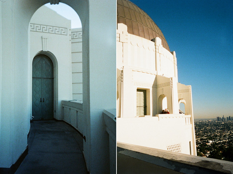 griffith observatory through film