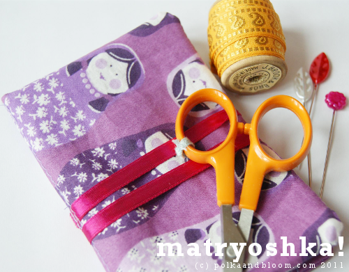 Matryoshka needle book