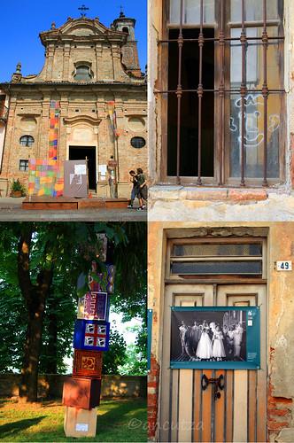 foto collisioni festival letterario, concerti rock e incontri a novello nelle langhe piemonte italia