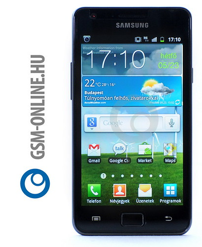 Samsung Galaxy S II Touch Wiz 4.0