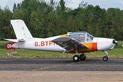 G-BYPN (QSY on-route) Tags: club fly 55 th aero in lincon sturgate egcs gbypn 04062011