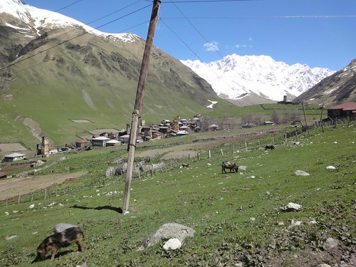 Guesthouse Shxara em Ushguli - Svaneti