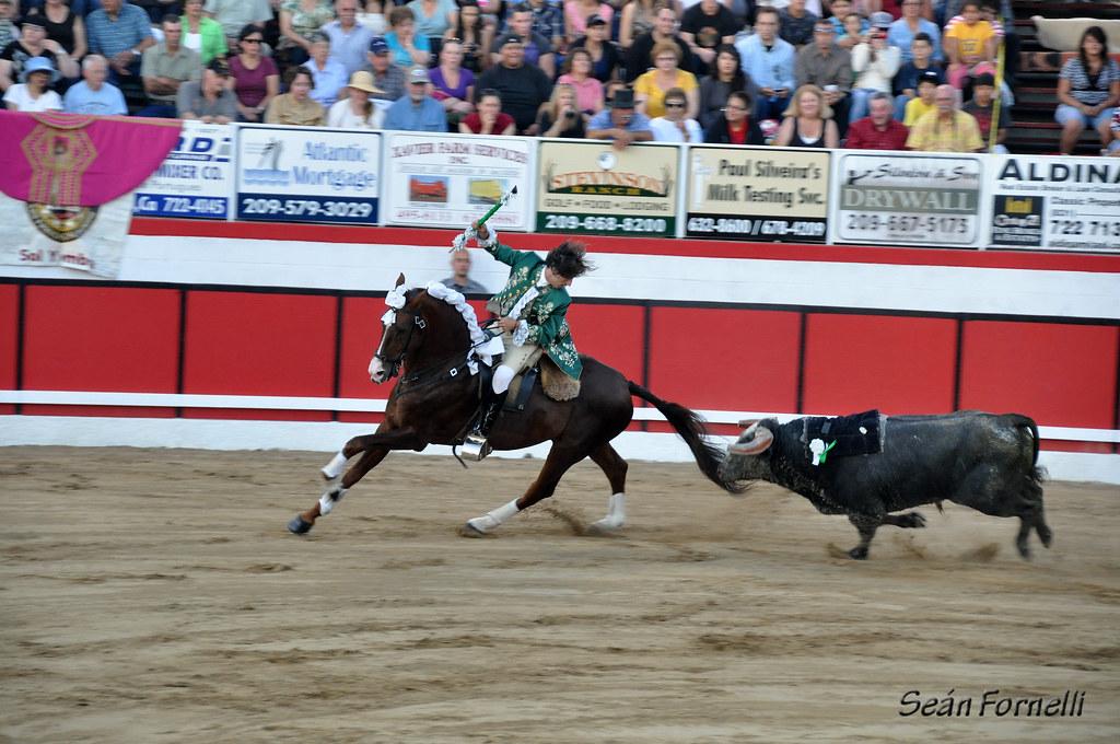 Modesto Festa Bullfights 2011 - 049