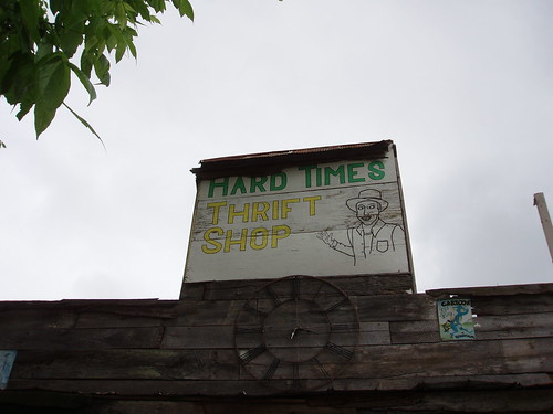 Hard Times Sign, Alabama