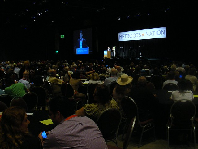Closing keynote at Netroots Nation