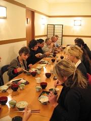 Cena degustazione del corso di Sushi 2007