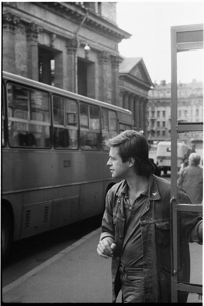 Борис Гребенщиков Ленинград 1986