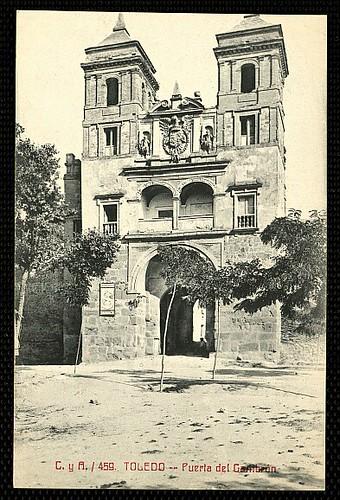Puerta del Cambrón. Foto Castiñeira y Álvarez hacia 1913