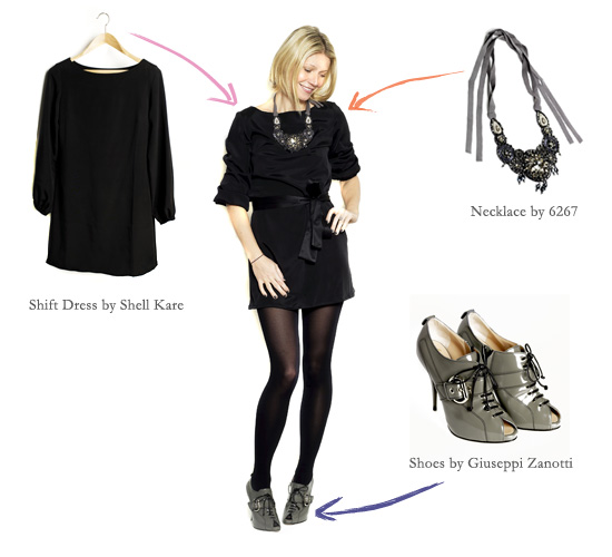 shiftdress_look1