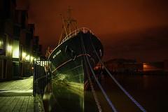Arctic Corsair (pbmurphy) Tags: museum night ships hull trawler