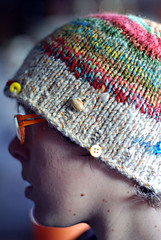recycled handspun hat