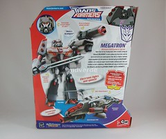 Transformers Megatron Animated Leader - caja