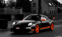 997 GT3 RS. (Denniske) Tags: orange black club digital canon eos rebel restaurant movement belgium belgique action 911 hasselt belgi optical sigma os porsche be coloring dennis pcb panning zwart rs figaro 18200 colouring oranje limburg selective blackorange gt3 997 bwcolor noten colorkey carspotting stabilizer 18200mm bwcolour porsches gt3rs 3563 997gt3rs f3563 xti 400d rapertingen denniske dennisnoten zwartoranje
